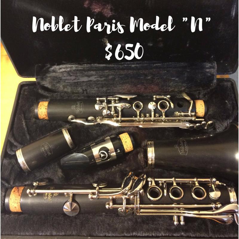 """Noblet Paris Clarinet Model """"N"""" – Excellent condition"""